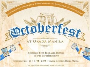 Authentic Octoberfest Experience at Okada Manila @ Okada Manila
