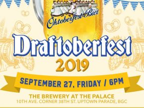 Enjoy Great Food and Free-flowing Beer at Draftoberfest This September 27