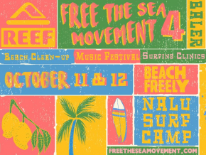 Free the Sea Movement Lets You Save the Waters and Party at the Same Time