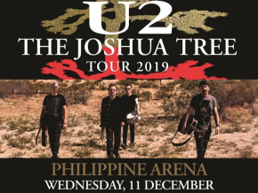 U2 Brings The Joshua Tree Tour to Manila This December