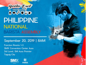 Know More About Coffee Crafting at the Philippine National Barista Assembly