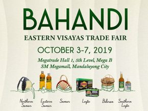 Bahandi Eastern Visayas Trade Fair 2019 to Showcase Visayan Treasures