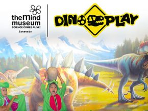 The Mind Museum's Dino Play Traveling Exhibition Returns This September