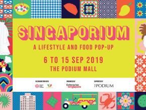 Have A Taste of Singaporean Culture at the Singaporium Pop-Up in Ortigas