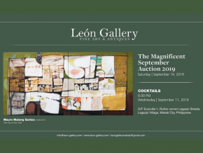 Score Rare Art Pieces at the Leon Gallery Magnificent September Auction