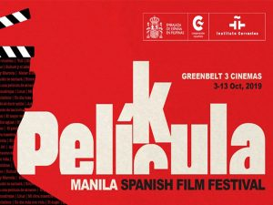 Película Manila Spanish Film Festival 2019 @ Greenbelt 3 Cinemas