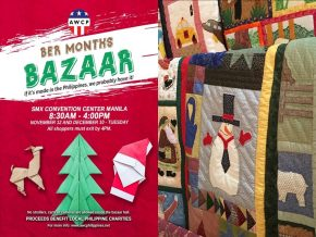 American Women's Club of the Philippines Announces Schedule for Holiday Bazaar