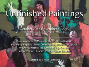 Visit Unfinished Paintings Exhibit at Art Anton in Pasay