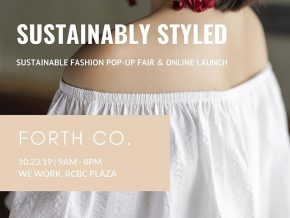 Online Sustainable Marketplace Forth Co. Holds Pop-Up Fair on October 23