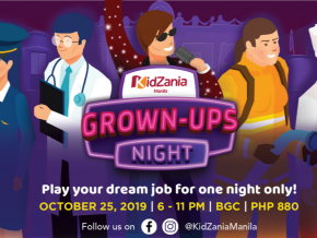 Live Your Childhood Dreams with Kidzania's Grown-Ups Night 2019