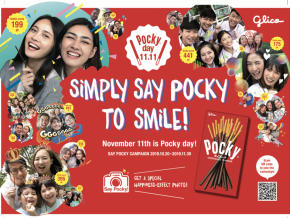 Celebrate Pocky Day This November 11 in Japantown, Glorietta