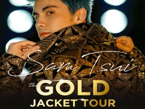 Catch Sam Tsui's The Gold Jacket Tour LIVE in Manila