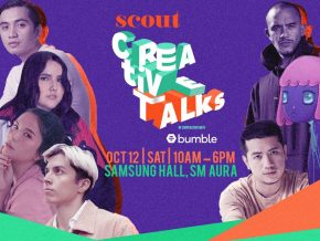 SCOUT Creative Talks 2019 Helps Millennials Out of Their Creative Rut