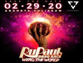 Catch RuPaul's Drag Race Werq The World Tour LIVE in Manila
