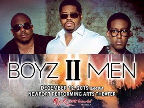 Boyz II Men Returns to Manila for A One-Night Concert This December