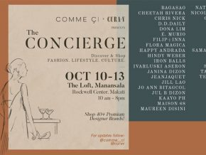 The Concierge Trunkshow Features Premium Designer Brands on October 10 to 13