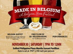 Sofitel Manila Hosts the First-Ever Belgian Beer Festival in the PH