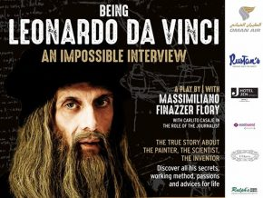 Catch Being Leonardo da Vinci, An Impossible Interview Play in Manila