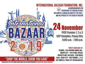 International Bazaar 2019: Shop the World and Show You Care This November
