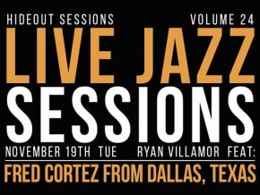 Ryan Villamor and Fred Cortez Take the Stage at Ikomai Hideout Live Jazz Sessions Vol. 24