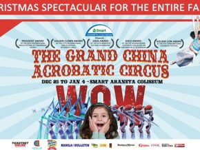 Witness Sensational Performances at the All New Grand China Acrobatic Circus