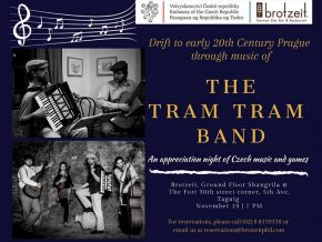 Catch Czech Musicians TramTram LIVE Concert at Brotzeit Shangri La at the Fort