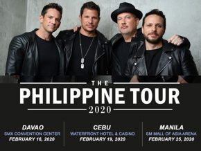 American Pop and R&B Group 98 Degrees Performs in PH This February