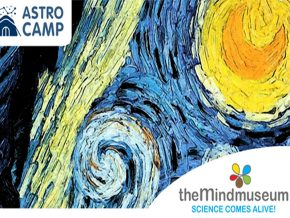 Marvel at the Galaxies at The Mind Museum's Astro Camp: Starry, Starry Night