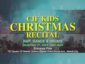 Catch the CIF Kids Christmas Recital at the TIU Theater