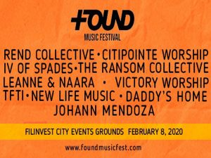 Celebrate Life at the 2020 FOUND Music Festival @ Filinvest City Event Grounds