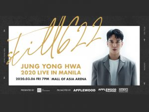 CNBLUE's Jung Yong Hwa Returns to Manila for Comeback Concert This March @ Mall of Asia Arena