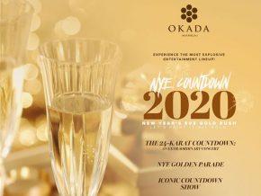 Experience a Golden Year Welcome at Okada Manila's NYE 2020 Countdown