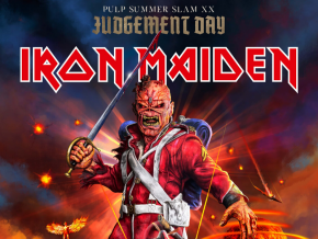 Iron Maiden Headlines PULP Summer Slam XX: Judgment Day This May