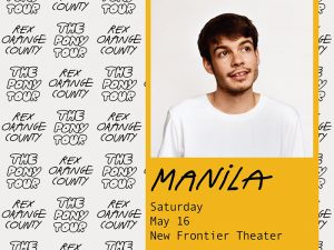 Gear Up for Rex Orange County's The Pony Tour in Manila on May 2020 @ New Frontier Theater