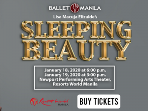 Ballet Manila Stages Sleeping Beauty This January @ Newport Performing Arts Theater