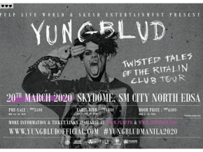 Catch YUNGBLUD Live in Manila on March 2020