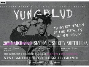 Catch YUNGBLUD Live in Manila on March 2020 @ Skydome, SM City North EDSA