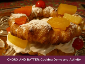 Learn More About French Pastries at BGC Art Mart: Choux and Batter