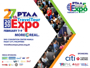 Score Great Deals at the 27th PTAA Travel Tour Expo This February 2020