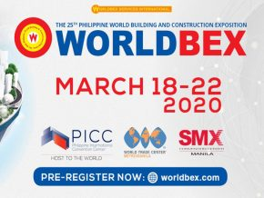 Catch the 25th Philippine World Building and Construction Exposition this March 2020