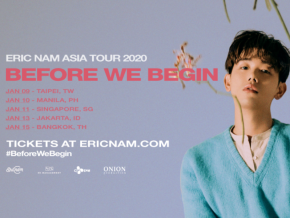 Eric Nam Brings 'Before We Begin' Asia Tour in Manila This January