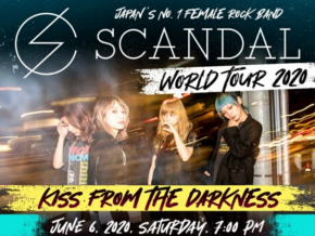 Japanese Rock Band SCANDAL Comes Back to Manila This June 2020