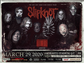 Metal Band Slipknot Set to Perform in the PH This March