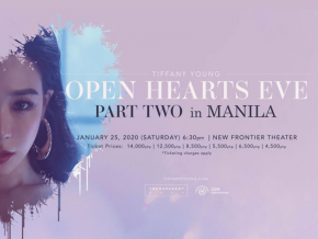 Tiffany Young Is Coming to Manila This January for 'Open Hearts Eve' Part Two