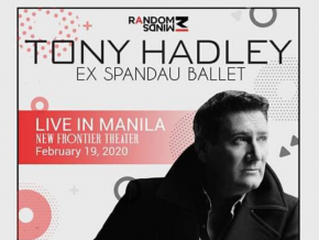 British Vocalist Tony Hadley Will Perform Live in Manila This February