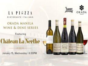 Okada Manila's La Piazza Ristorante Italiano Hosts Château La Nerthe Wine Dinner