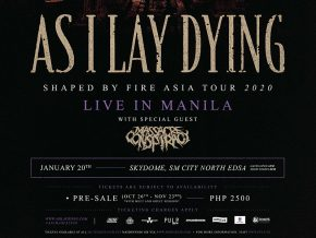 As I Lay Dying Returns to Manila for Shaped By Fire Asia Tour This January