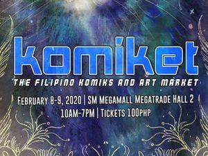 Catch Komiket 2020: The Filipino Komiks and Art Market This February @ Megatrade Hall 2 & 5