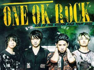 One OK Rock Returns to Manila for the Eye of the Storm Tour @ Smart Araneta Coliseum