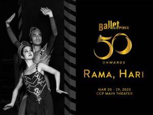Rama, Hari Closes Ballet Philippines' 50th Season This March @ CCP Main Theater